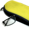 Diving material leather specsavers eye glasses case