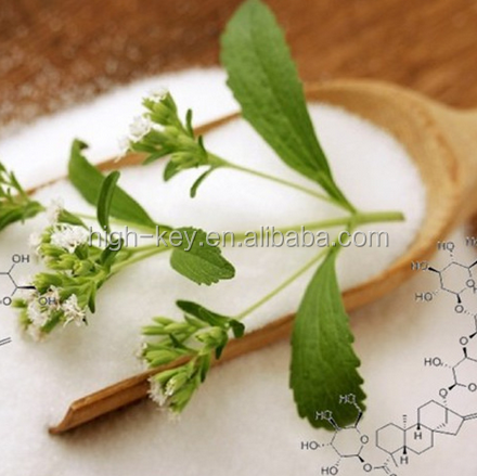 EX1029 Bulk sale Stevia Extract 60% Stevioside, Natural Sweetener, weight loss