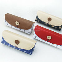 LANGUO France style pencil / pen case, pencil box with red color for wholesale Model:LGFL-2629