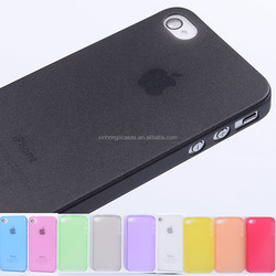 0.3mm Ultra thin matte slim Soft plastic Case cover skin for iPhone 4S 4