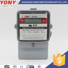 Good quality anti-rusty single phase digital power meter