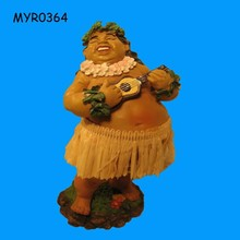 Funny Hula Girl Resin Figurine Wholesale