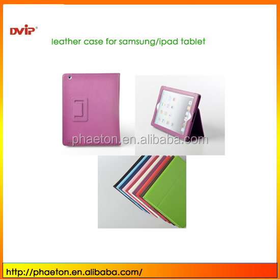 newest ultra-slim PU leather flip case tablet case for ipad