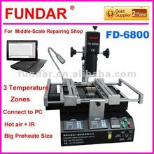 FUNDAR FD-6800 3 temperature zone BGA repair equipment