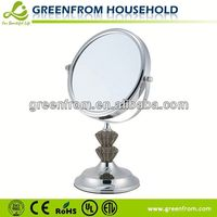 7 Inch Plastic Chrome Screen Protector Mirror