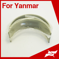 Marine diesel engine spare parts for Yanmar 8LA-UT conrod bearing