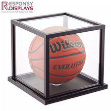 Customized Counter Table Acrylic Football Display Case