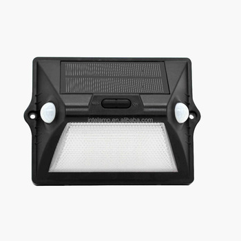 High quality Solar Wall Lights In-ground Lights 12 LED Solar Outdoor wall mounted Lamp