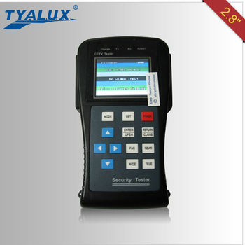"2.8"" LCD screen 2.8'' Multi-Function Cctv Tester"
