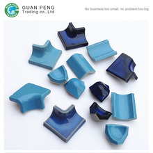 Bullnose Ceramic Curved Tile Corner Trim For Swimming Pool