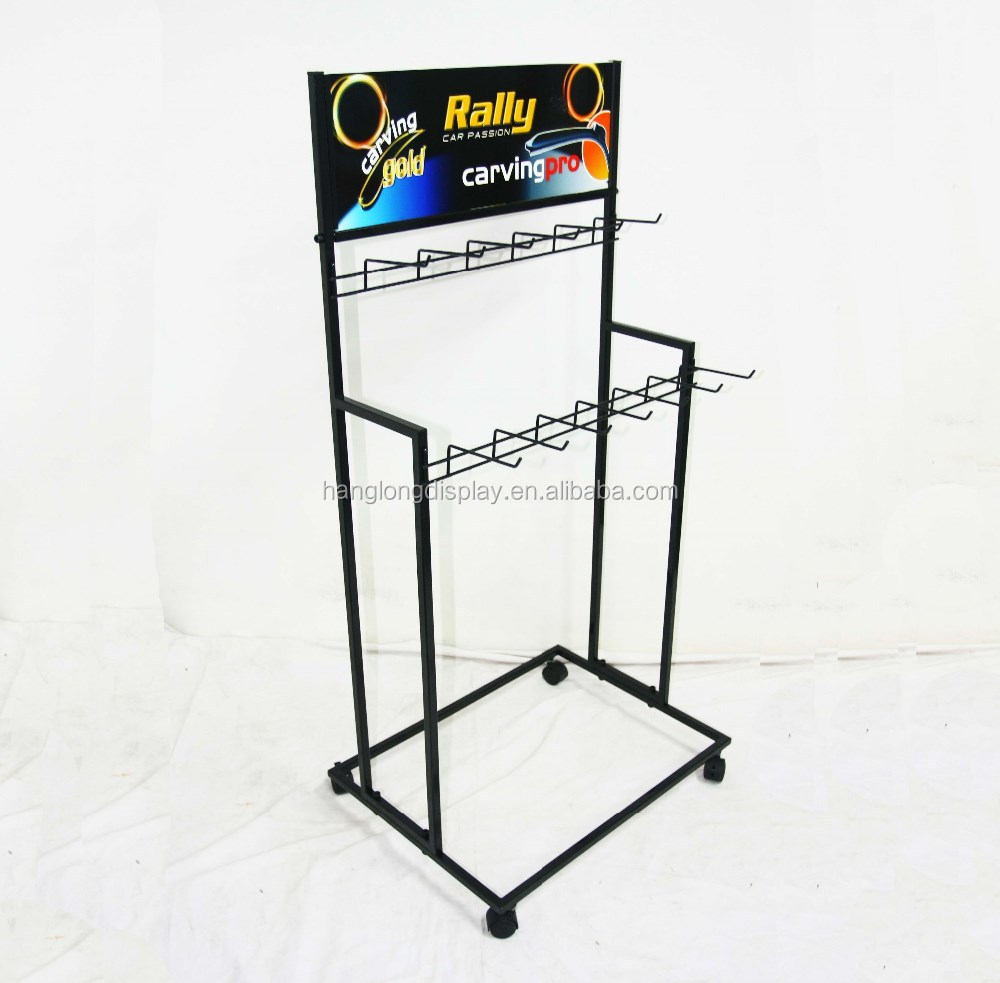 Car accessories metal wiper blade display stand HL60