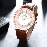 Warm winner watch, Cheap leather band watches, Quality leather western watches