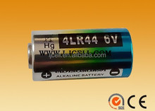 0% Mercury /hg 4LR44 4AG13 4A76 28A 544 6V Alkaline 4LR44 batteries for camera, cameral battery 4lr44