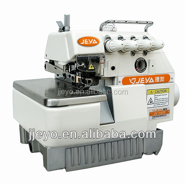 industrial 5 thread flat lock overlock sewing machine JY757