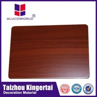 Alucoworld wall material wooden finished insulated aluminum roof panels insulated aluminum panels