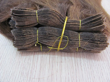wholesale virgin indian remy hair #2&#4 pu weft extensions