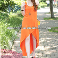 2014 sleeveless knitted indo western dresses
