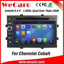Wecaro WC-CC7049 Android 4.4.4 car dvd player for Chevrolet cobalt with radio 3G wifi playstore