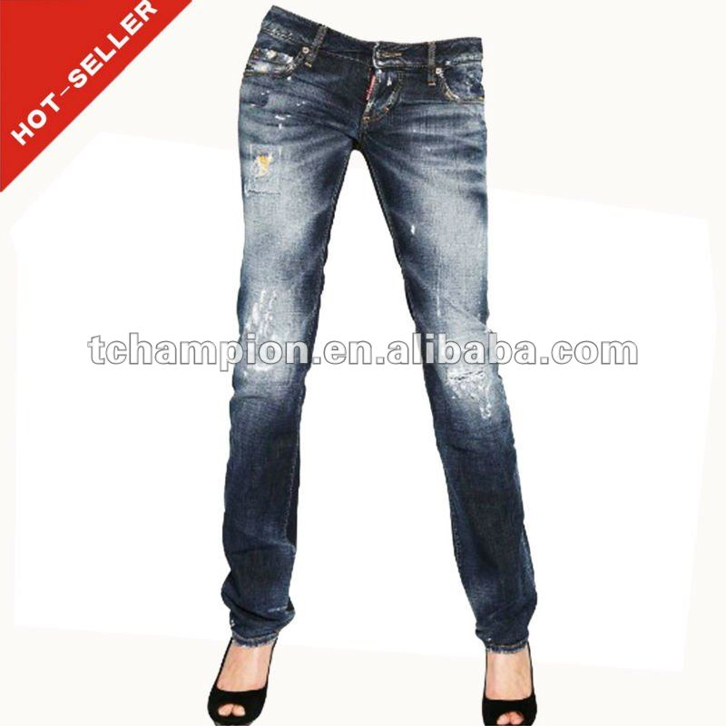 (#TG362W ) 2013 fashion no name denim innovative design hot bottom jeans levanta cola