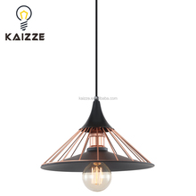New Restaurant small Retro iron wire ceiling pendant light