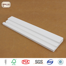Custom Waterproof High Quality Pine Wood Doorjamb Primed Timber Door Frame Molding Jamb