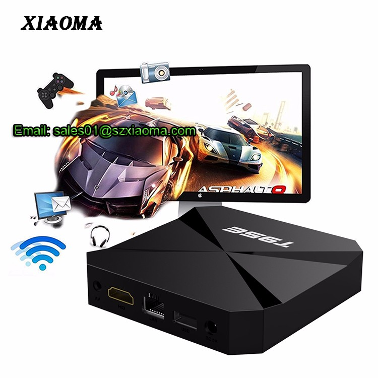 Newest arrival RK3229 KDplayer 16.1 1GB ram 8GB rom android tv box T95E smart tv android ott box