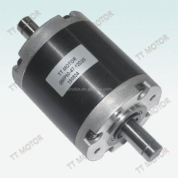 60mm planetary gearbox and 25kg.cm gear motor