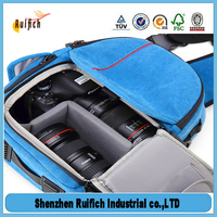 Bese price of logo bag microfiber drawstring camera bag,big camera bags,waterproof bag for canon