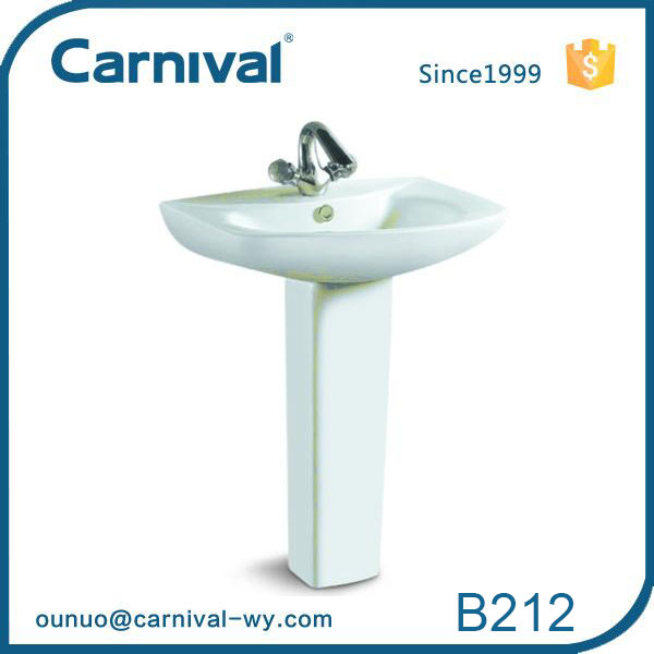 Western style Rectangle streamline High Quality Wash Basin B212