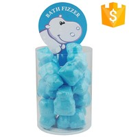cute blue ivory wave bath salt