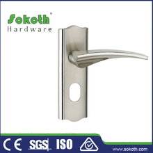 Storm or Screen Door Lever Handle with lock key