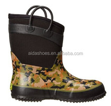 K236 Toddler/Little Kid/Big Kid Camo Rubber Boots