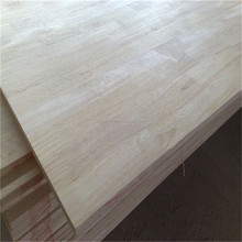 hot sale paulownia solid wood board finger joint board price