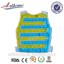 Latest design reusable comfort back gel warm ice cooler pad