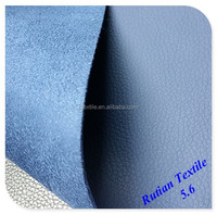 artificial PVC leather for car seat cover with new design