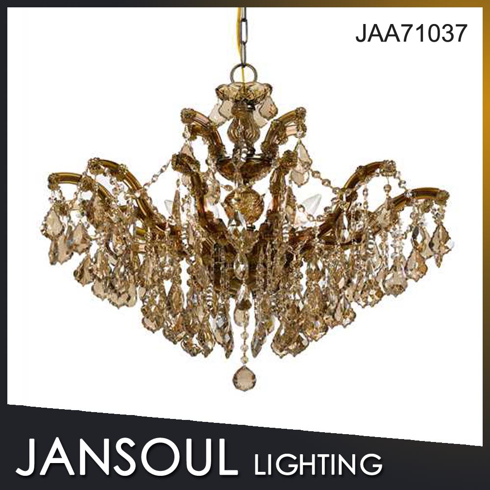 Factory outlet french style chandelier light for coffee house restaurant