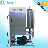 Water and air cooling way ozone water treatment machine with corona discharge technology for sale