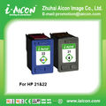 China toner and hp21 hp22 ink cartridges