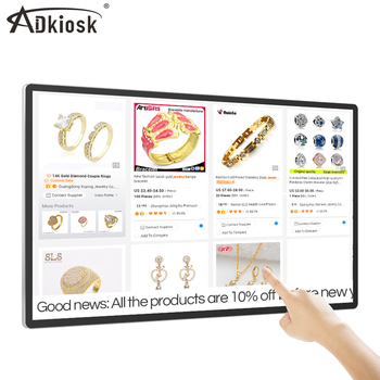 49inch monitor touch screen android pc monitor lcd screen advertisement player