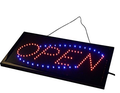 2018 New Product LED open Sign Factory Direct mini led open sign led advertising board( open, merry christmas, traffic sign)