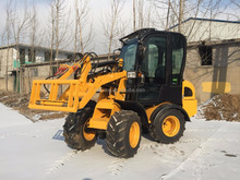 CE top quality 800kg capacity ZL08 mini wheel loader