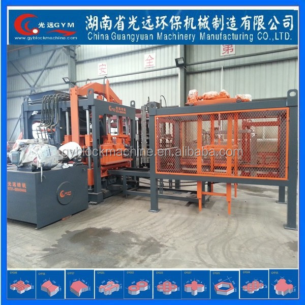 Mixture Brick Raw Material concrete block making machine india