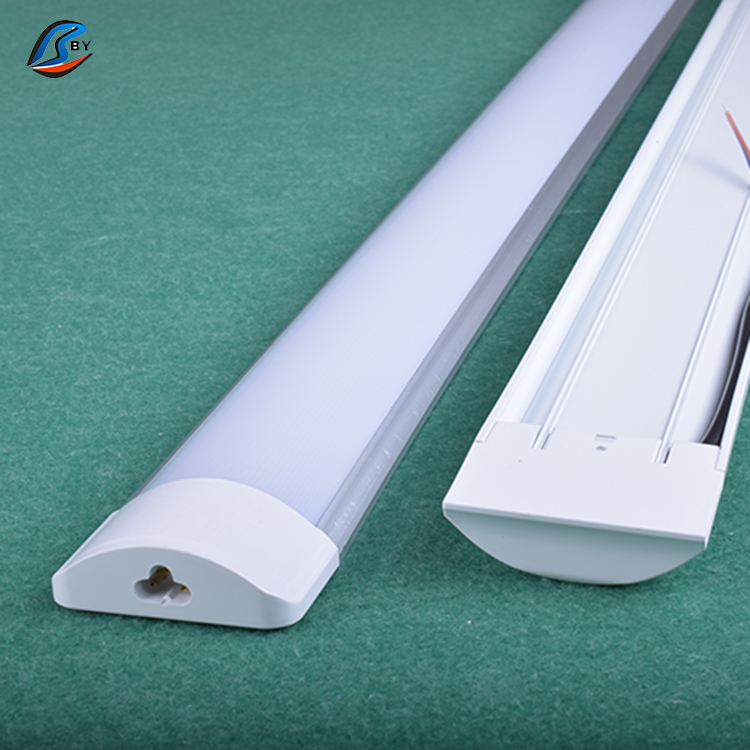 Modern 600mm/2ft frosted led linear ceiling battens light fixture led fluorescent tube lights T8 with factory price