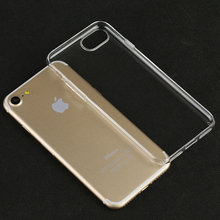 High quality PC protective slim clear skin case for iPhone7 / 7puls customized cases