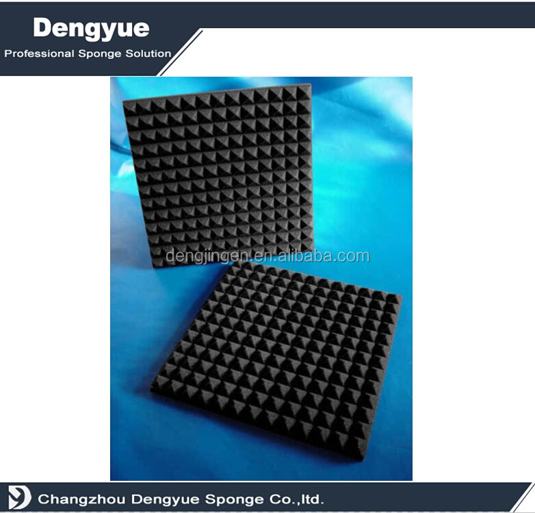 Industrial acoustic egg crate foam manufacturer pyramid foam rubber insulation sheet