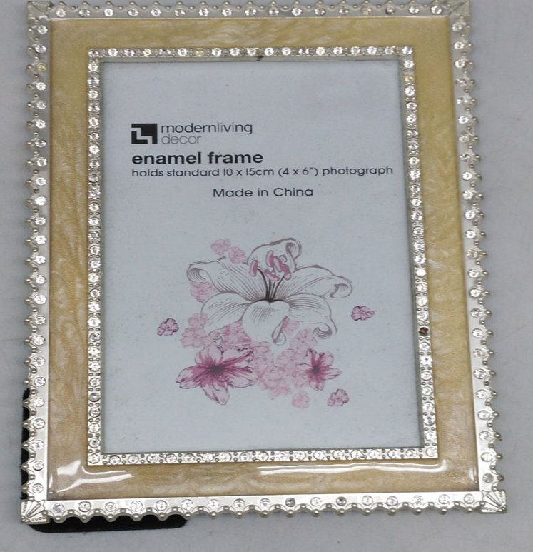 Cheap Small Picture Photo Frames Metal Pewter Zinc Alloy Photo Picture Frame