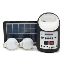 Portable Electric Power supply Solar System for home with bluetooth and radio