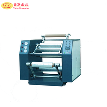 Good price 500mm double layer Stretch Film Rewinding Machine