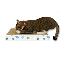 Private label pet products cat toys cardboard box /Cat scratcher/cat scratching post