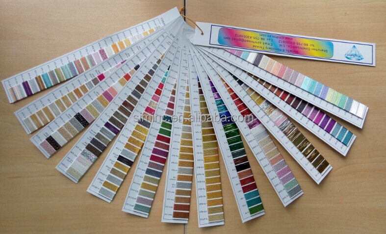 Popular Thread Color Chart Color Book for Embroidery and Sewing